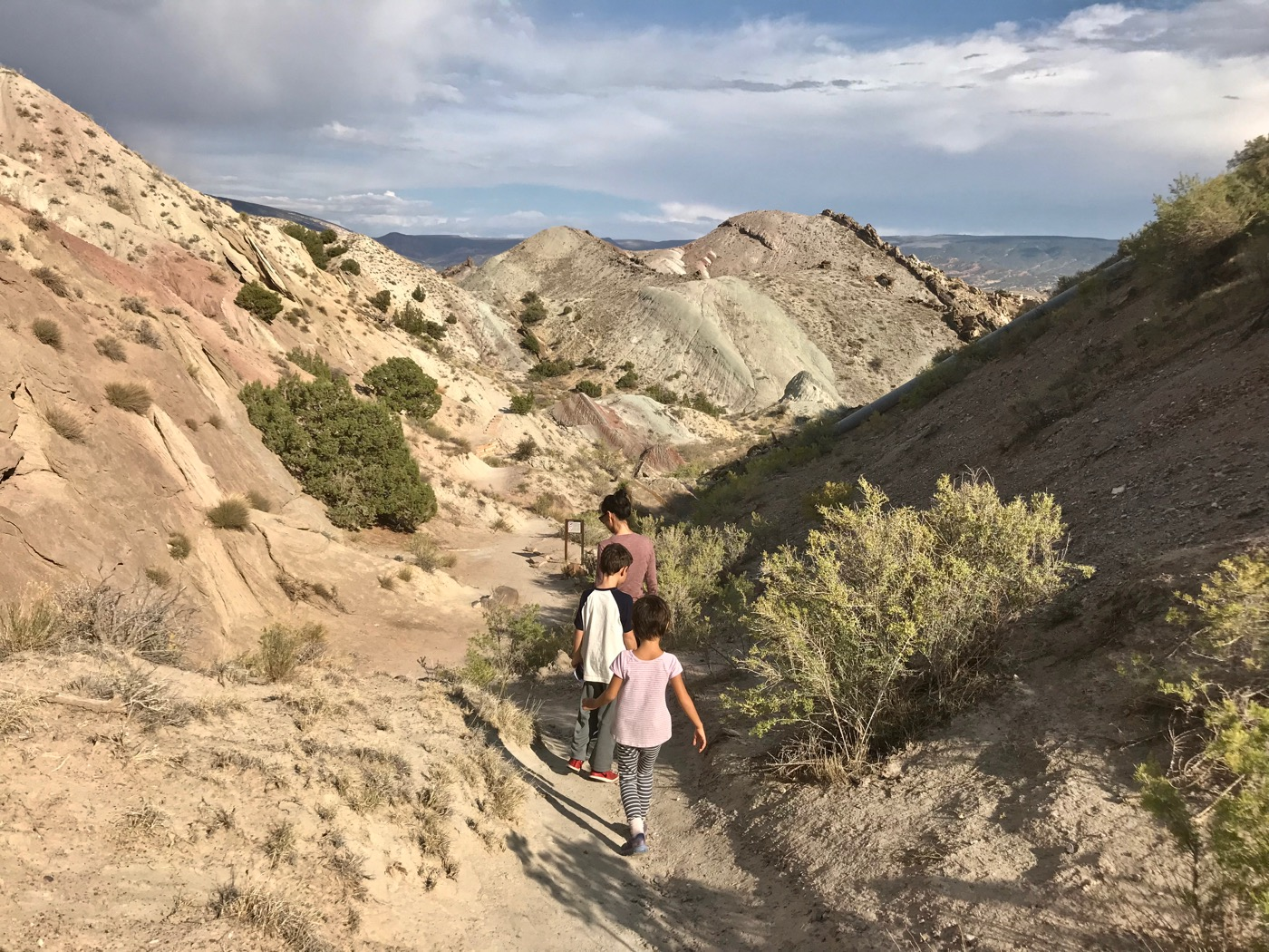 Searching for fossils at Dinosaur National Monument