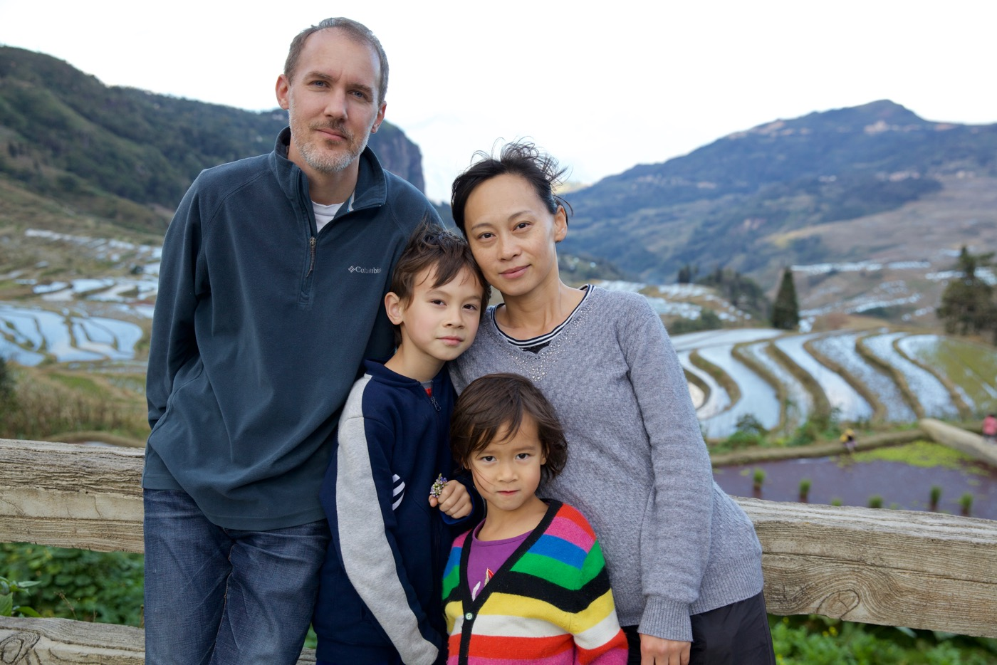 Benson Family, Laohuzui, Yunnan, China