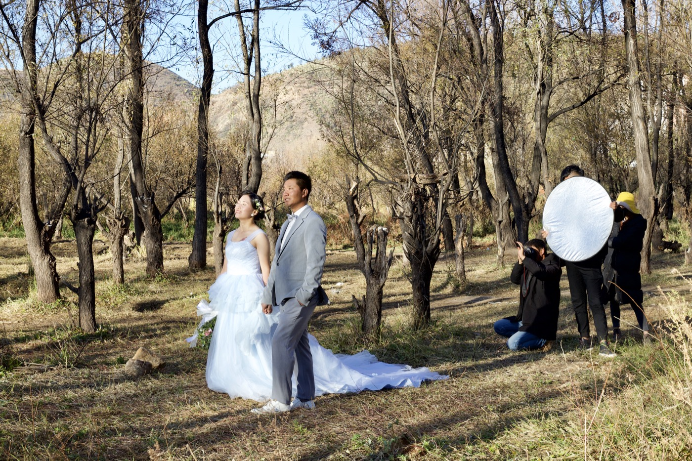 Wedding portrait.  Dali, China