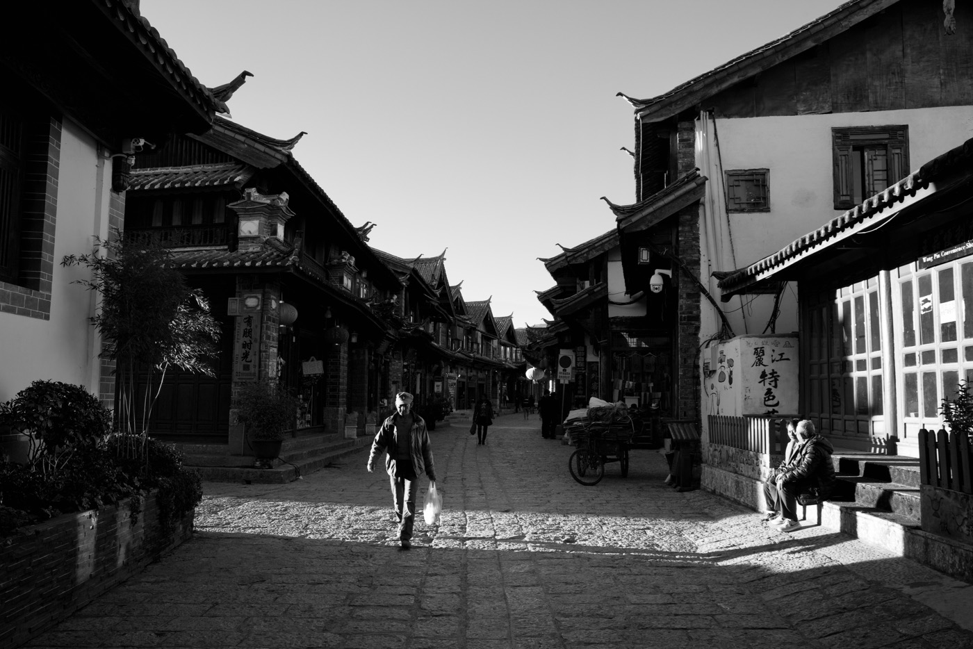 Life in the light.  Lijiang, China